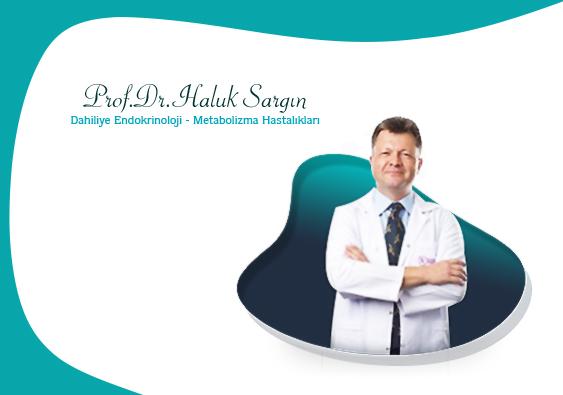 Prof. Dr. Haluk Sargın